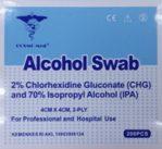 Alcohol Swabs Box/200's